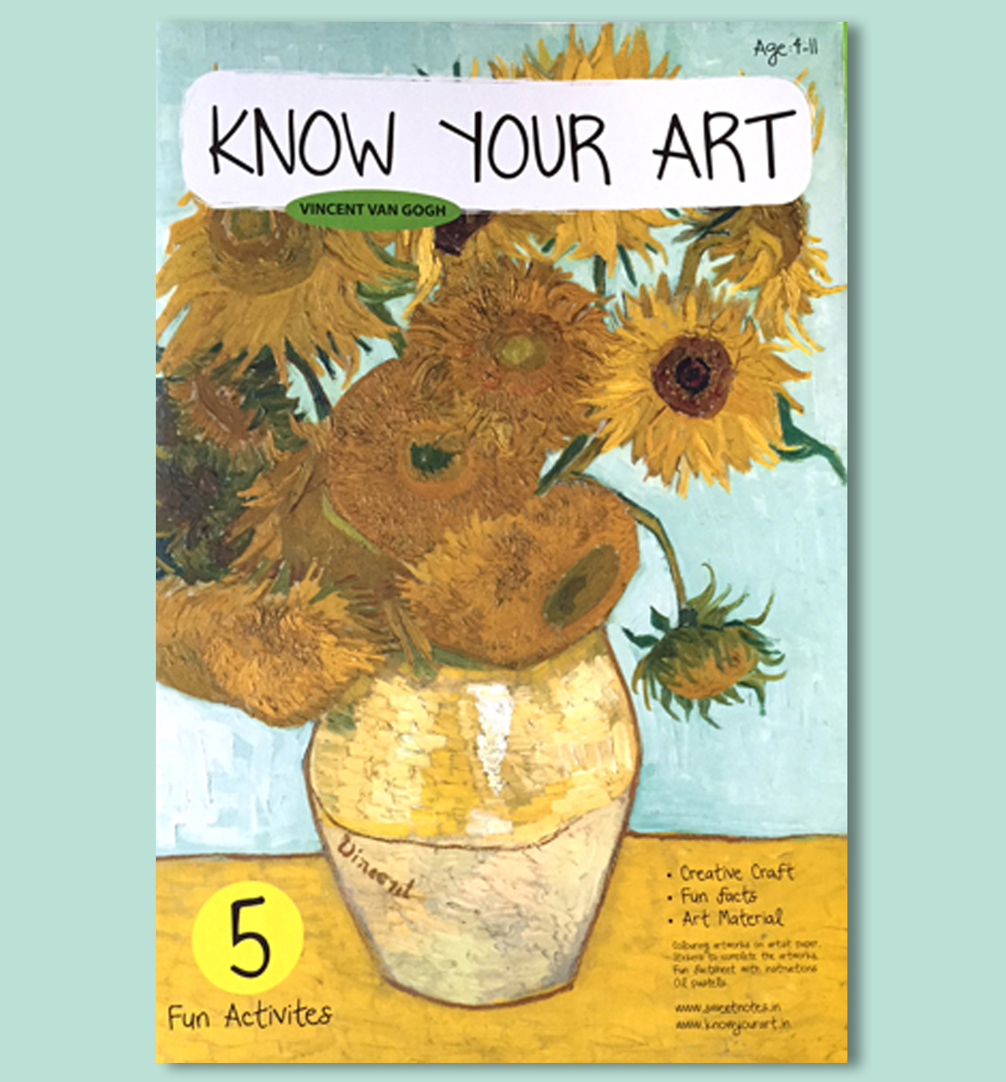 Know Your Art - DIY Kit - Vincent Van Gogh