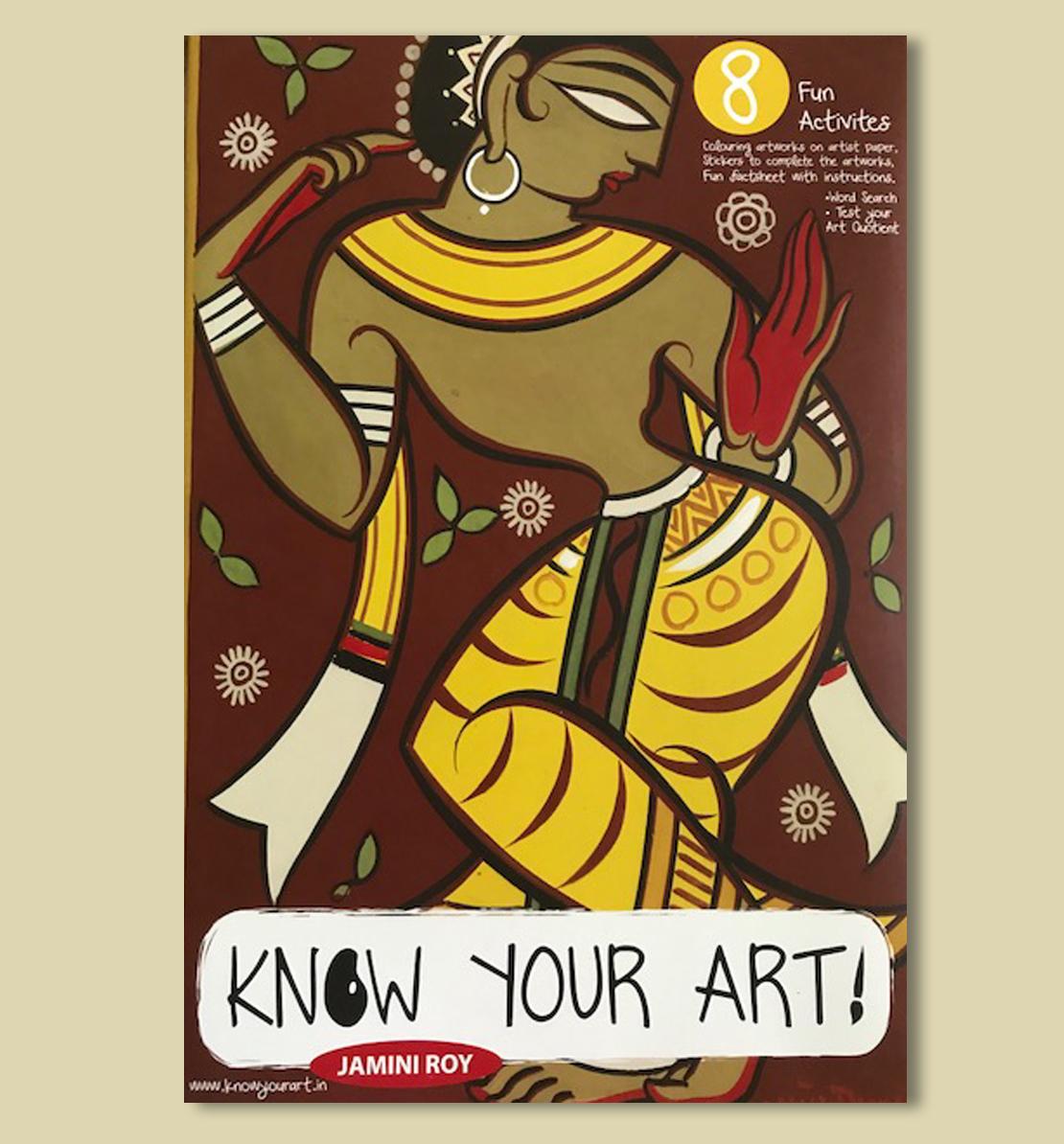 Know Your Art - DIY Kit - Jamini Roy