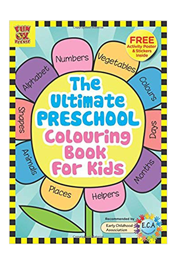 The Ultimate Preschool Colouring Book For Kids