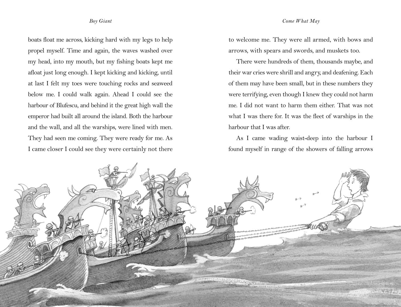 Boy Giant - Son of Gulliver by Michael Morpurgo