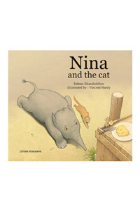 Nina and the cat