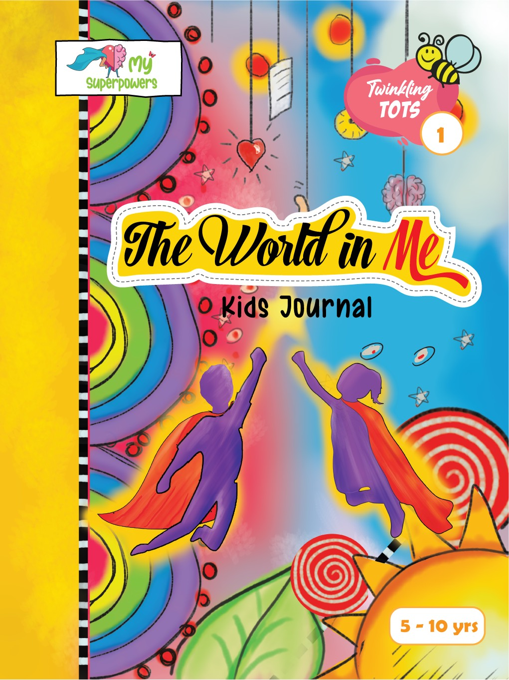 The World In Me - Journal for kids