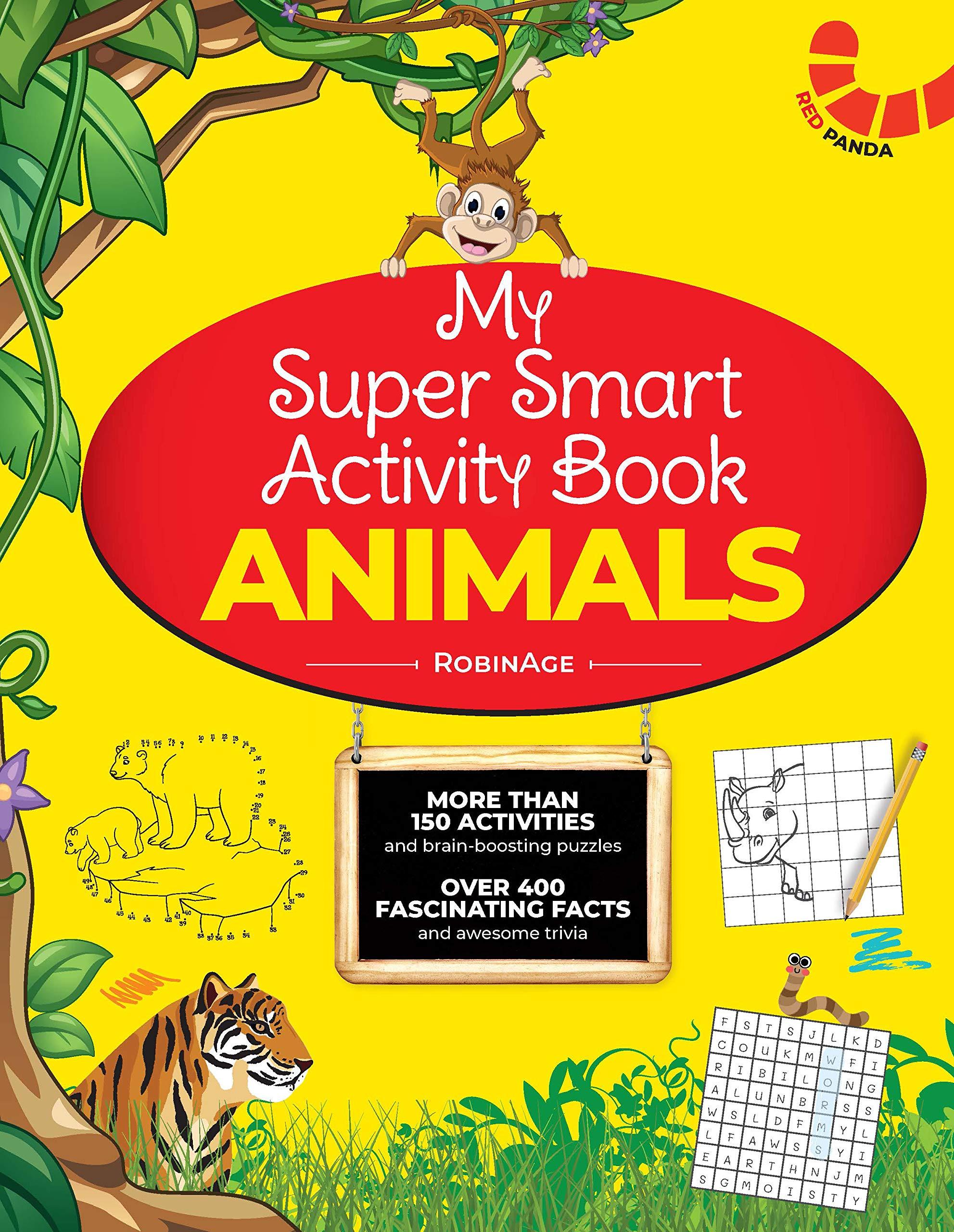 MY SUPER Smart Activity Book:Animals