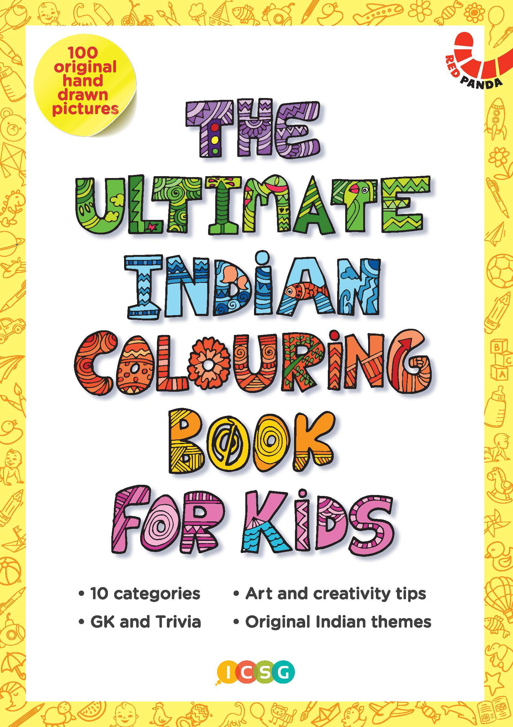THE ULTIMATE INDIAN COLOURING BOOK
