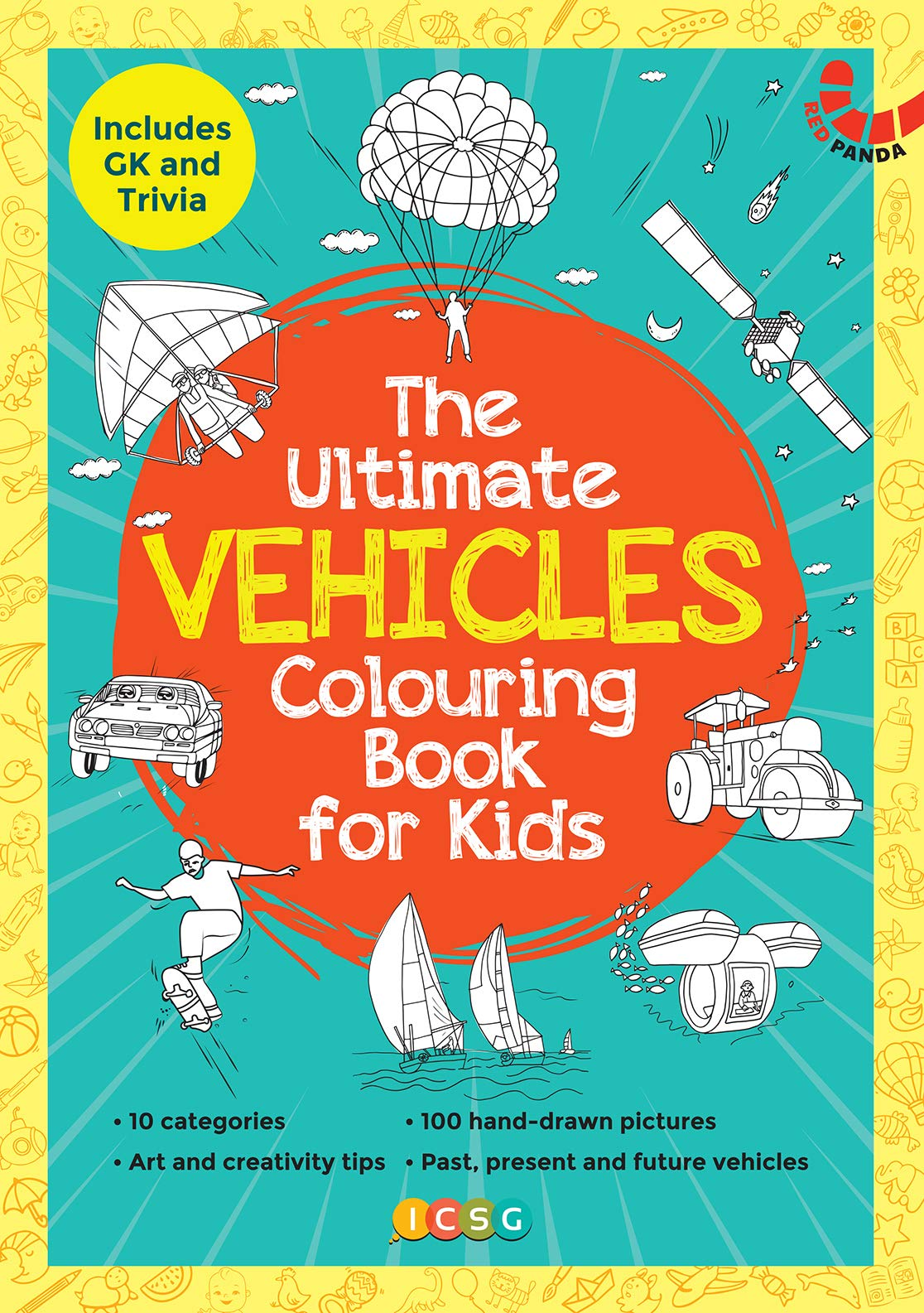 THE ULTIMATE VEHICLE COLOURING BOOK