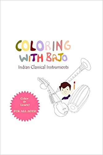 Shrota House - Colouring with Bajo - Indian Classical Music Instruments