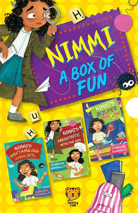 Talking Cub -Nimmi: A Box of Fun by Shabnam Minwalla