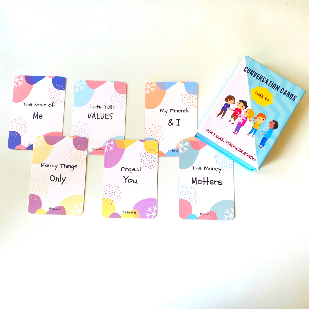 ThinkleBuds - Conversation Cards (Ages 10+)
