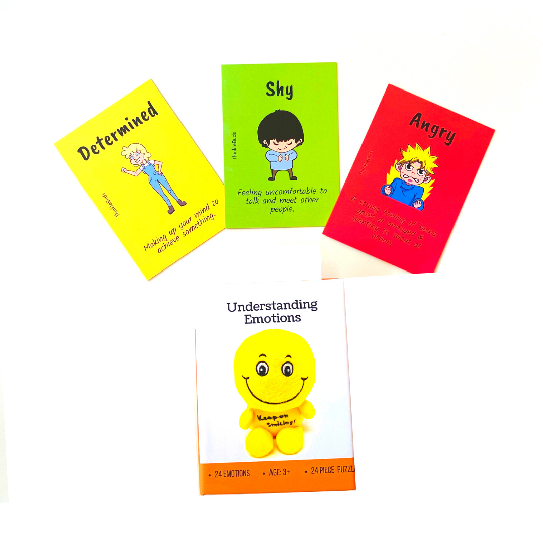 ThinkleBuds - Emotions Cards (Ages 3-8)