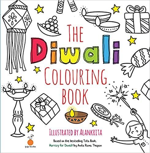 Tota Books - The Diwali Colouring Book