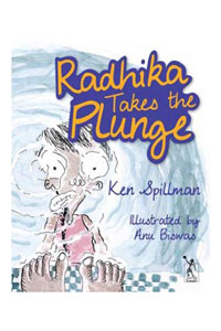Radhika Takes The Plunge