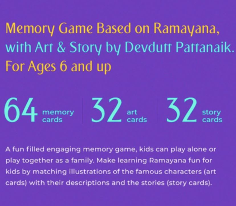Epically Ramayana - Memory Game