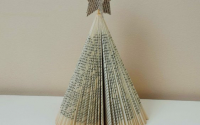 Bookish Xmas – Ideas for Christmas Trees with Books